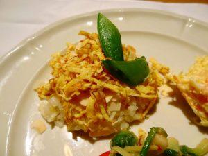 お米のサラダ くんせいチーズ風味