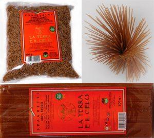 スペルト小麦(古代小麦/ファッロ)の全粒粉パスタ