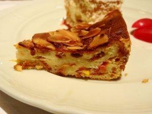 ローストトマトとクリームチーズの焼き菓子
