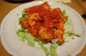 海老チリ風トマト煮