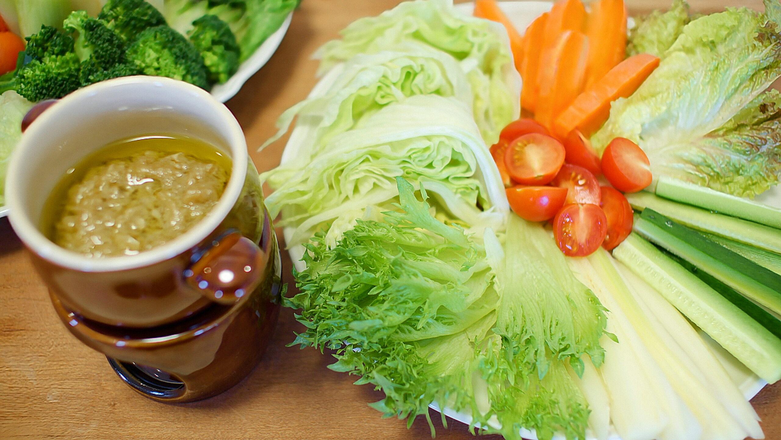 バーニャカウダ(生野菜)