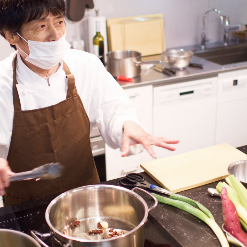 伊崎シェフ料理教室